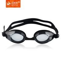 厂家供应硅胶泳镜 近视游泳眼镜 可选度数男女通用游泳镜厂价批发