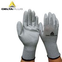 供应代尔塔201790防静电手套 PU涂层ESD防护手套 精密操作手套