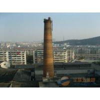 洛阳烟囱不停产拆除加高、烟囱维修