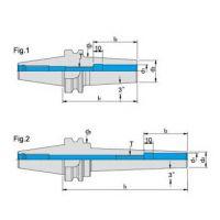 正河源热胀刀柄BT30*SFC4-80整支通孔动平衡