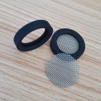 YF4分硅橡胶过滤网垫片橡胶密封垫304滤网