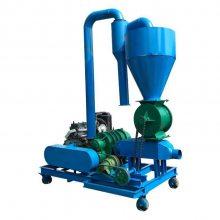 兴运优质气力吸粮机 不锈钢真空输送机 扬程高装罐送料机