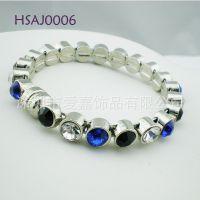 手链生产定做 珐琅合金手镯手链珠宝红宝石首饰设计加工定做工厂