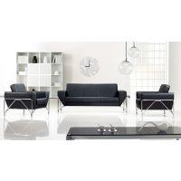 首望办公家具 办公沙发 现代商务接待沙发 简约办公室 会客