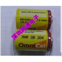 供应原装*** ER14250 3.6V 1/2AA电池 仪器设备工控PLC锂电池