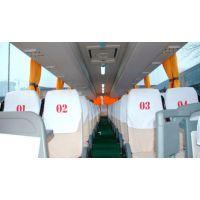 供应成都市中巴车广告头套椅套坐垫座套礼盾广告车套昆明本土生产厂家
