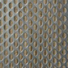 旺来圆孔矿筛网 圆孔隔音板 热镀锌板冲孔网