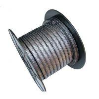 高碳纤维盘根|骏驰出品耐高温镍丝增强高碳纤维盘根FASTRACK-6100