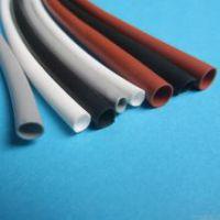 红色黑色彩色耐温200度硅胶热缩管