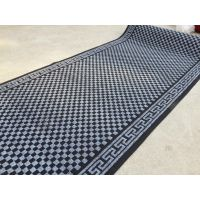 pvc地毯 双色提花地毯地垫 入户地垫 防滑除尘脚垫