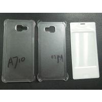三星Galaxy A510官方四角卡位贴皮保护套带插卡面板素材