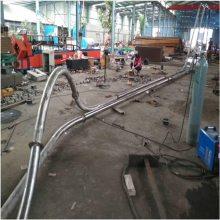 米面淀粉管链输送机 无扬尘环保机械设备 陶土链式运输机