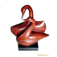 卡通动物雕塑 写实动物雕塑 抽象动物雕塑 龙岗雕塑-横岗壁虎工艺品-鹿头壁挂-抽象龙摆件