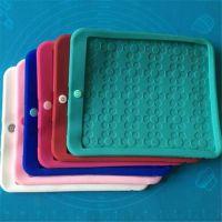 苹果ipad5/air超薄硅胶保护套 ipad纯色平面硅胶套