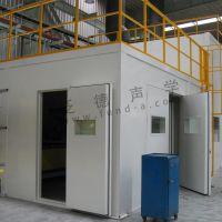 圣戈班大型钢化生产线噪声治理工程 生产线隔声房 设备隔声罩