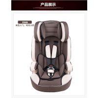 巴巴乐 3C认证儿童安全辅助宝宝汽车安全座椅 9月-8岁六色