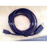 深圳 创伟 供应USB电脑接口线 USB对MINI5P连接线 USB手机数据线(图)