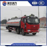 解放J6前四后四多介质油罐车(柴油、汽油、原油、煤油)
