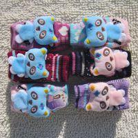 厂家热销2013冬季新款女童保暖手套 小熊卡通儿童手套 小童手套