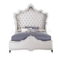 宫廷欧式双人床 欧式宫廷公主床 新款欧式布艺双人床 奢华欧式床