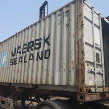 低价出售6米/12米二手集装箱/冷藏冷冻柜/住人活动房飞翼散货集装箱