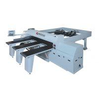 全自动机械手电子锯、木工高效率电子锯厂家、高配置数控电子锯、优化软件数控开料锯