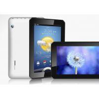 J2013全志A20真正双核7寸平板电脑 8GB 安卓4.2 安卓4.2 双摄像头