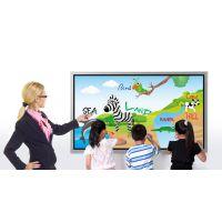 现货直销晶致创享壁挂式82寸电子白板/多媒体互动电子教学白板
