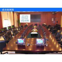 JG700加大型盒式投影机桌面升降器 会议多媒体开门式投影仪升降机