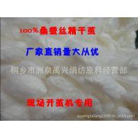 开茧机专用蚕茧100%桐乡优质蚕丝、桑蚕丝精干茧 量大从优