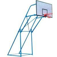 深圳炮式固定篮球架尺寸康腾厂家为您解答厂价直销价格实惠