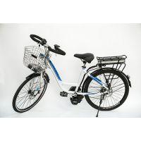 飞锂/FLIVE新款电动车 锂电池自行车单车 铝合金车架中置电机 36V26寸 预售款 优尚