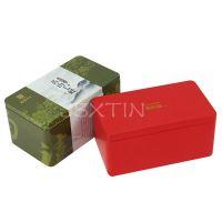 黄山毛峰绿茶铁盒 毛峰毛尖马口铁茶叶盒