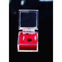透明亚克力戒指盒展示盒 亚克力工艺礼品包装盒 亚克力工艺制品