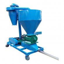 滑石粉大吨量气力输送机 布袋除尘真空吸送机 石家庄气力吸粮机
