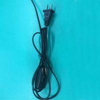 厂家直销 电源线插头 国标二插电源线 开关303插头电源线