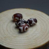 玛瑙天珠批发 开光天然玛瑙藏式三眼天珠 复古 散珠diy饰品