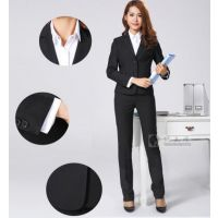 韩版女西服上海实体工厂量身定制西装定做高档女款职业装