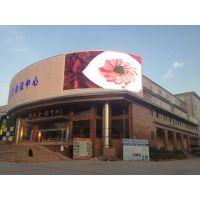 创彩源p16弧形户外LED显示屏亮相惠州陈江会议中心