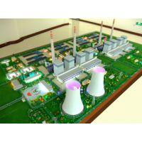 定制ABS材质武陟县热电厂电力展示沙盘模型本品制价廉质优