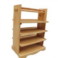万人热荐款 中式风格实木菜架 海德利多功能移动式置物架