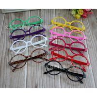 新款儿童镜框 椭圆宝宝眼镜架男女童眼镜框架无镜片批发JK0064