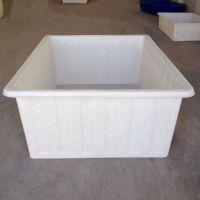 加厚牛筋塑料水箱800L升水产养殖箱养鱼方箱周转箱储水塑胶箱批发