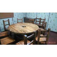 天津中式饭店实木餐桌椅厂家
