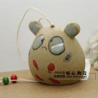 FL003特价风铃及配件日用批发创意礼品居家厂家 饰品晴天娃娃陶瓷