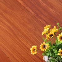 纯进口二翅豆实木地板豪宅专用3A级巴西龙凤檀香纯实木地板18mm