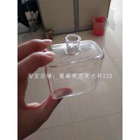 河间华企出售长方形玻璃瓶 小小香水瓶150ml