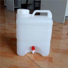 供应山东新佳5公斤水嘴塑料桶5公斤PE塑料桶