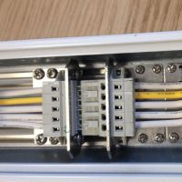 厂家直销 5位LED线性灯具配件 免螺丝端子替代wago 快速接线
