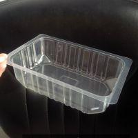 pet周黑鸭锁鲜盒/透明鸭脖鸭翅塑料包装盒